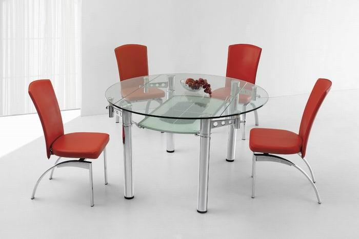 Featured Image of Glass Round Extending Dining Tables