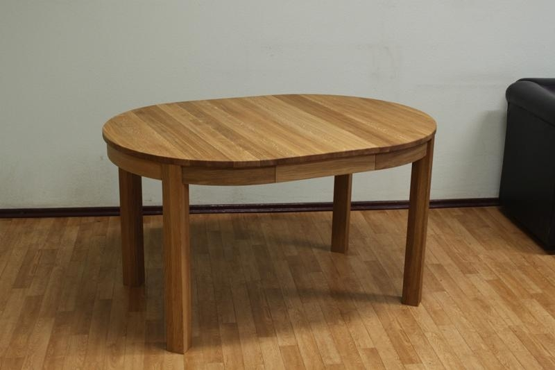 Small Round Extending Dining Table Pertaining To Small Oak Dining Tables (View 6 of 20)