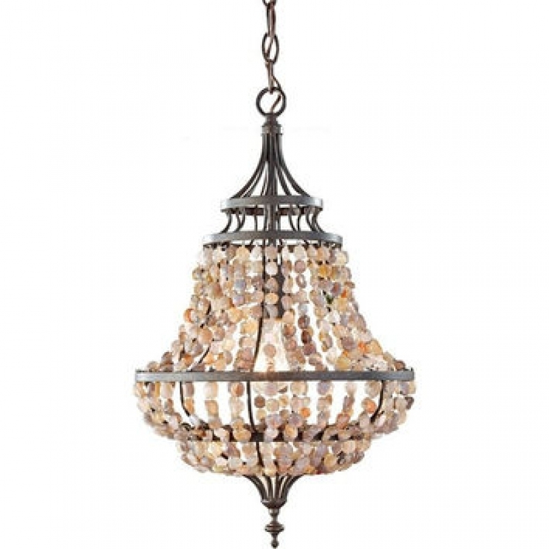 Small Rustic Chandelier Alluring Rustic Crystal Chandelier For Regarding Small Rustic Crystal Chandeliers (Image 23 of 25)