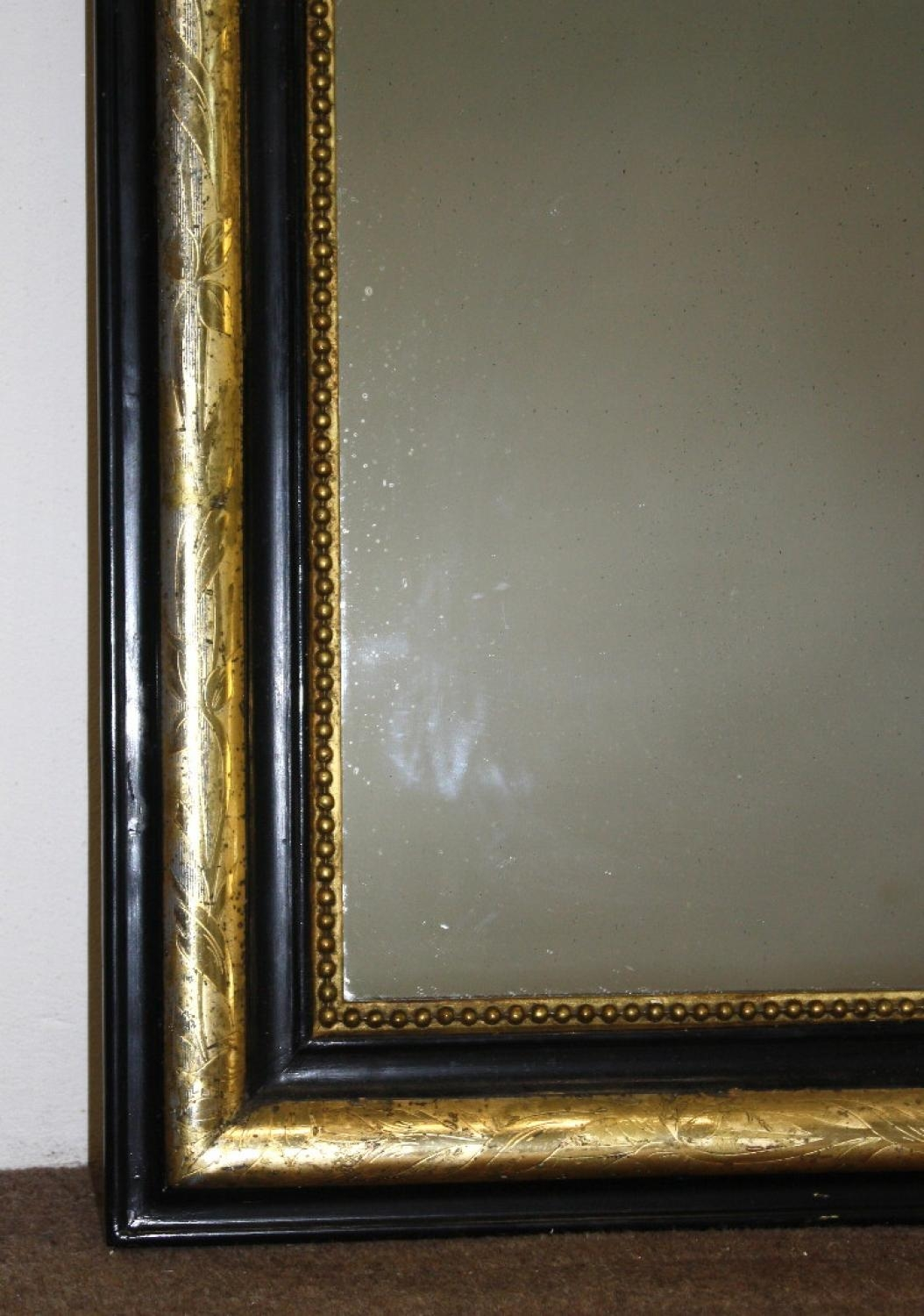 Smart Black And Gold Archtop For Black Antique Mirror (Image 18 of 20)