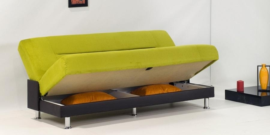 Sofa Bed With Storage Underneath – New Design 2018 / 2019 With Regard To Sofa Beds With Storage Underneath (Image 12 of 20)