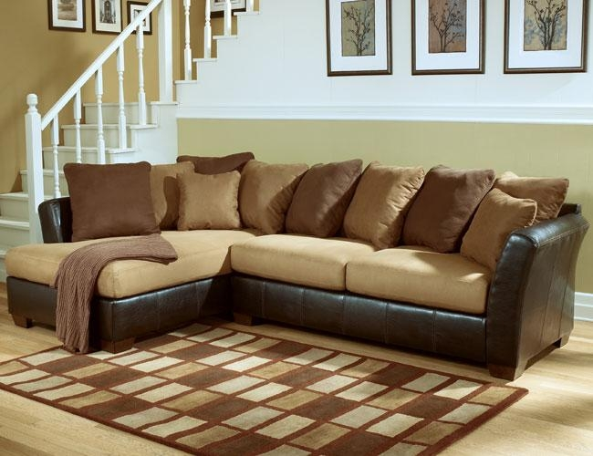 Sofa Beds Design: Inspiring Unique Sectional Sofas Phoenix Ideas With Ashley Furniture Brown Corduroy Sectional Sofas (Image 16 of 20)