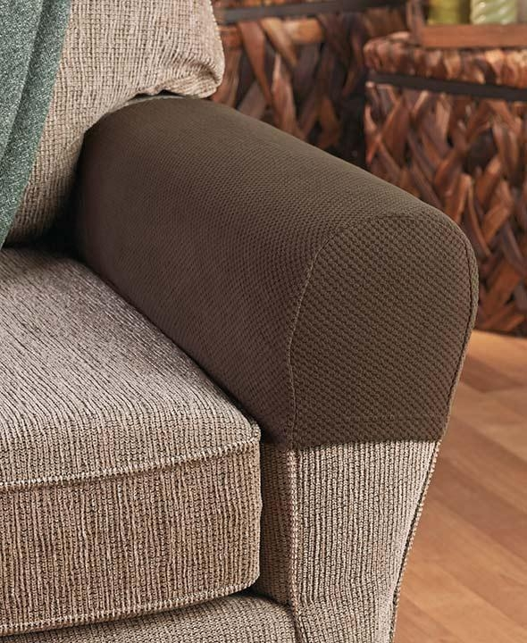 Sofa Slipcovers, Couch Covers & Furniture Protectors | Ltd Commodities For Armchair Armrest Covers (View 14 of 20)