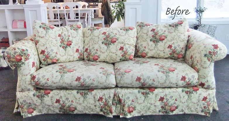 Sofa Slipcovers | The Slipcover Maker | Page 4 Within Floral Sofa Slipcovers (View 13 of 20)