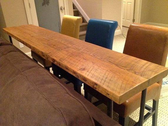 Sofa Table Design: New Collection Counter Height Sofa Table With Regard To Counter Height Sofa Tables (Image 17 of 20)
