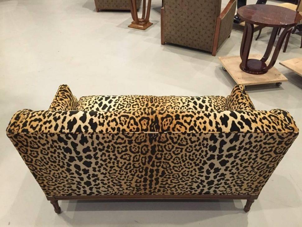Sofas Center : Animal Print Sofa Loveseat Recliner Coversanimal Pertaining To Animal Print Sofas (Image 15 of 20)