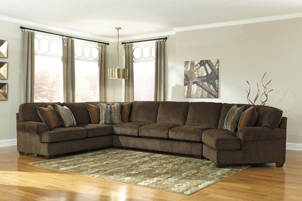 Sofas Center : Ashley Furniture Sectionals Sectional Couch Gray Regarding Ashley Furniture Brown Corduroy Sectional Sofas (Image 17 of 20)