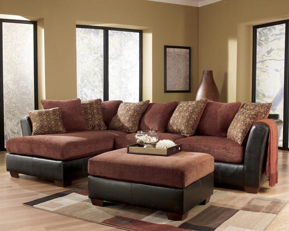 Sofas Center : Ashley Furniture Sectionals Sectional Couch Gray With Regard To Ashley Furniture Brown Corduroy Sectional Sofas (Image 18 of 20)