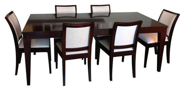 Sold Out! Pierre Cronje Mahogany Dining Table & 8 Chairs – $3,900 In Mahogany Dining Table Sets (Image 19 of 20)