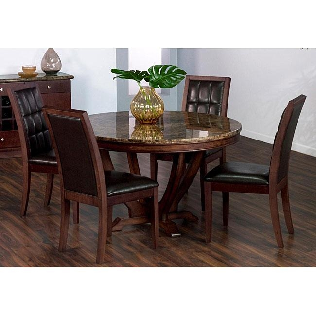 Solid Marble Dining Table – Free Shipping Today – Overstock Inside Solid Marble Dining Tables (View 6 of 20)