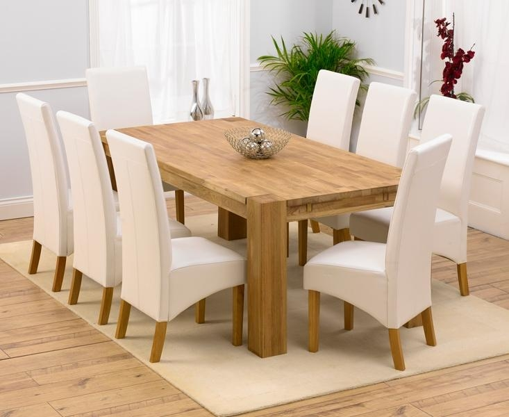 Solid Oak Kitchen Table Set – Home Design Ideas Pertaining To Extending Solid Oak Dining Tables (Image 17 of 20)