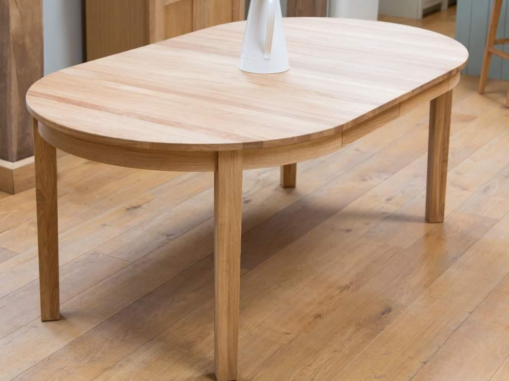 Solid Oak Round Extending Table From Top Furniture With Regard To Round Extending Dining Tables (View 11 of 20)