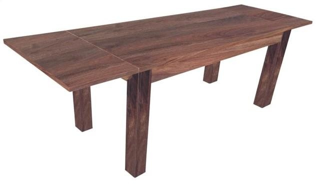 Solid Wood Extendable Dining Table – Modern – Dining Tables – Regarding Extending Dining Tables (Image 19 of 20)