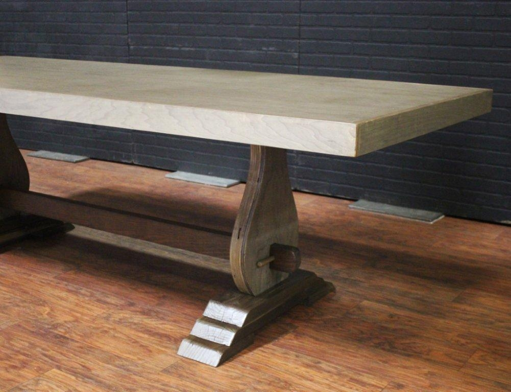 Sonoma Birch Dining Table | Town & Country Event Rentals With Regard To Birch Dining Tables (View 4 of 20)