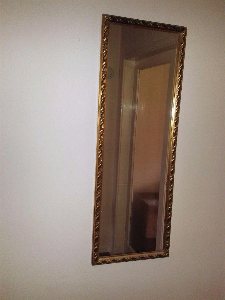 Sophisticated Oblong Gilt Edge Mirror | In Hockley Heath, West Pertaining To Gilt Edged Mirror (Image 17 of 20)