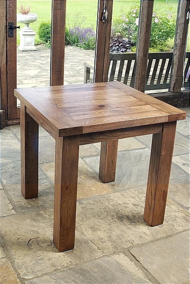 Southern Red Cedar Dining Table (Image 20 of 20)