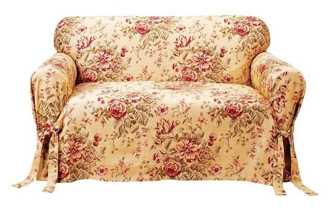 Spring Floral Sofa Slipcover – Free Shipping Today – Overstock Throughout Floral Sofa Slipcovers (View 18 of 20)