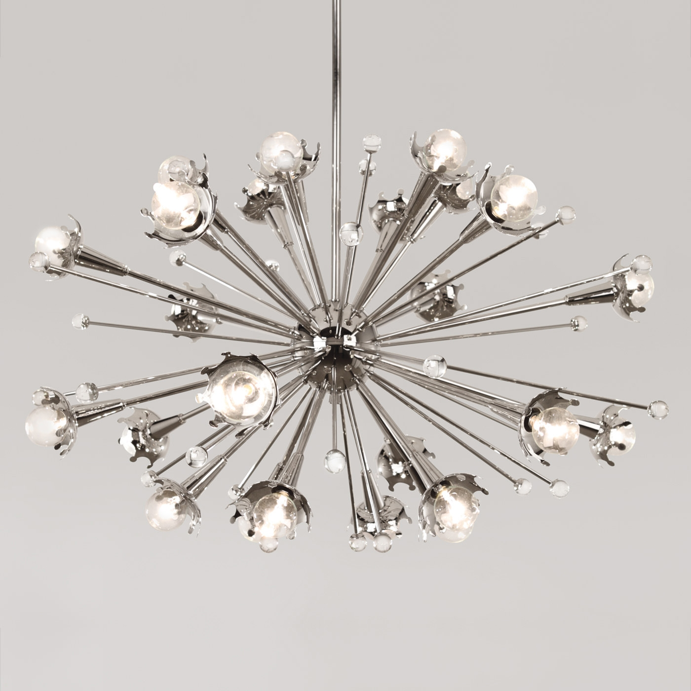 Sputnik Chandelier Modern Lighting Jonathan Adler With Mini Sputnik Chandeliers (Image 22 of 25)