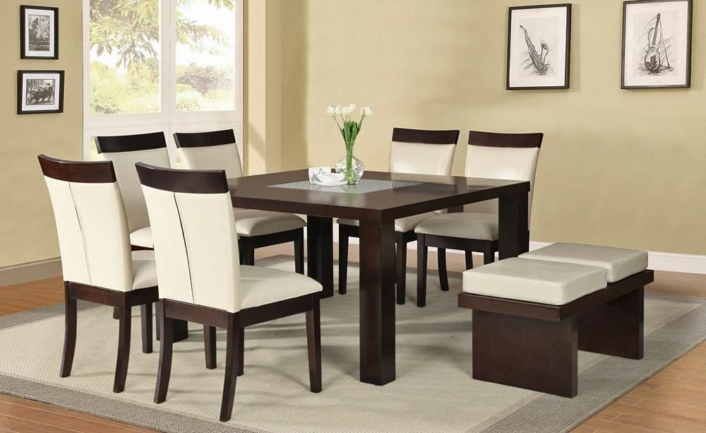 Square Dining Table Set In Square Dining Tables (Image 16 of 20)