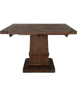 Square Extendable Dining Table | Buybrinkhomes Within Extendable Square Dining Tables (Image 15 of 20)