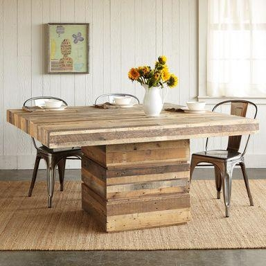 Square Wood Dining Tables In Square Dining Tables (Image 19 of 20)