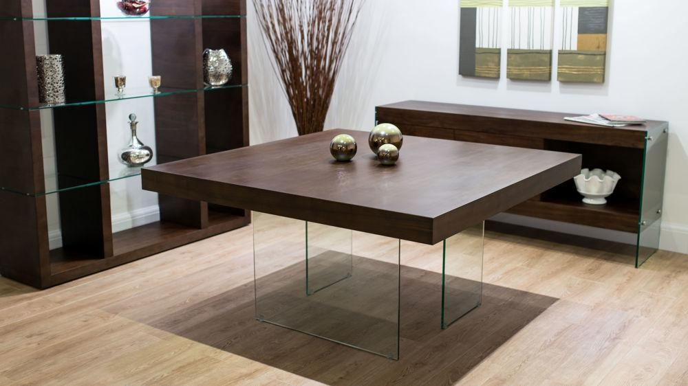 Square Wood Dining Tables Within Dining Tables With Large Legs (Image 18 of 20)