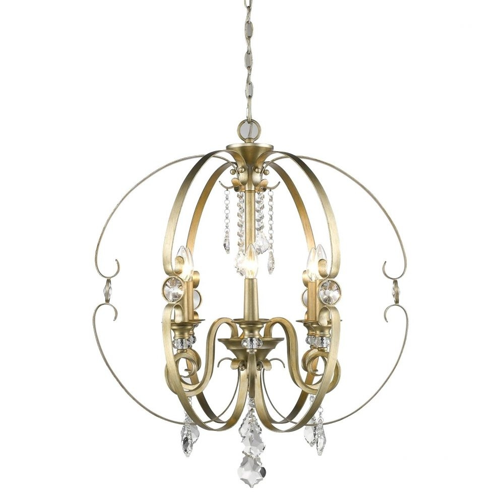 Stand Up Chandelier Golden Lighting 6068 8 Wg Marco Wg 8 Light Throughout Stand Up Chandeliers (Image 17 of 25)