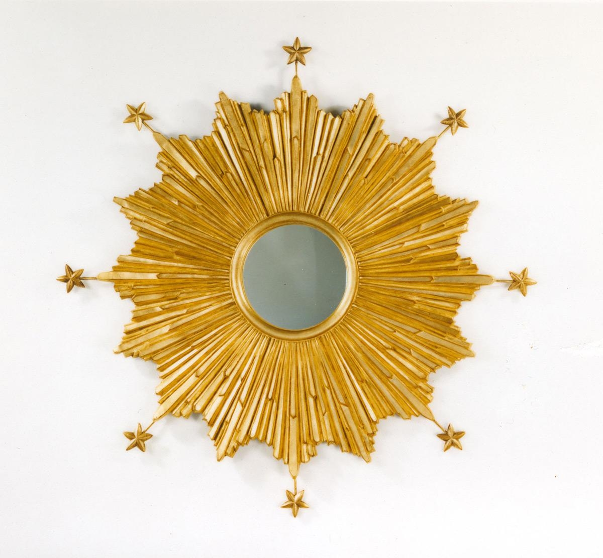 Starburst Mirror | Carvers' Guild Within Starburst Convex Mirror (Image 18 of 20)