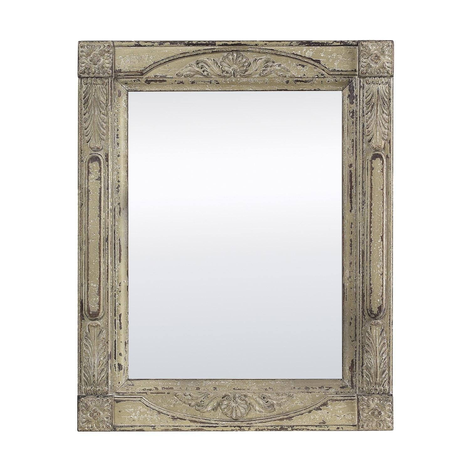 Sterling Industries 128 1038 Fairbury In Adriannia Antique Cream Within Antique Cream Wall Mirrors (View 16 of 20)