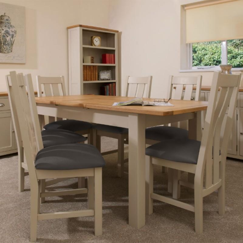 Stone Dining Table & 6 Chairs Regarding Portland Dining Tables (View 12 of 20)