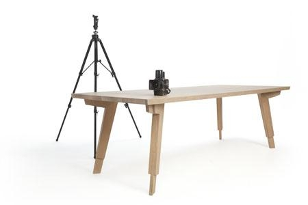 Stud Dining Table: Sturdy And Sleek Furniture Piece From Odesi Within Sleek Dining Tables (Image 17 of 20)