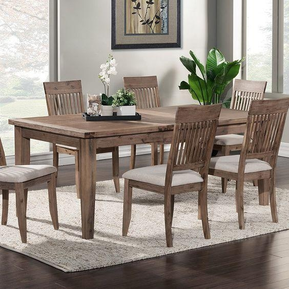 Stunning Acacia Dining Table On Home Designing Inspiration With Intended For Acacia Dining Tables (Image 17 of 20)