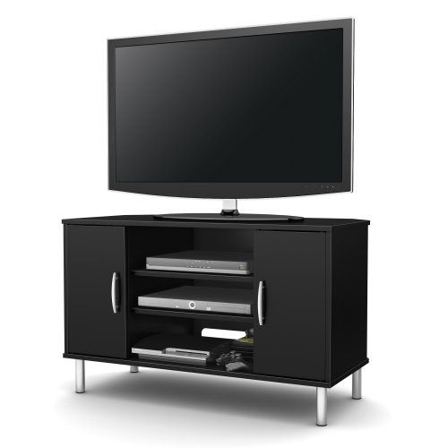 Stunning Best Black Corner TV Cabinets Within Best 25 Black Corner Tv Stand Ideas On Pinterest Small Corner (View 29 of 50)