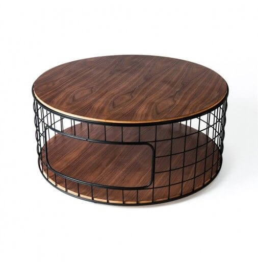 Stunning Best Coffee Tables With Baskets Underneath Inside 20 Coffee Table With Variety Form Function For All Your Needs (Image 33 of 40)