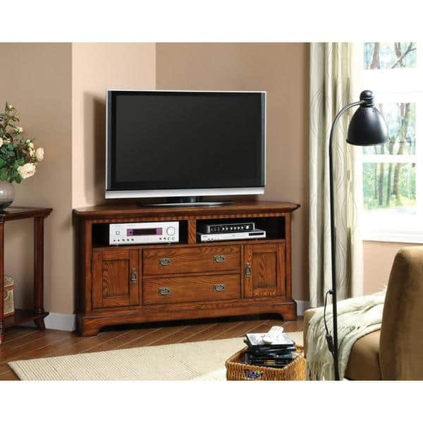 Stunning Best Dark Wood TV Cabinets Regarding Furniture Of America Bettina Dark Oak Tv Cabinet Free Shipping (View 42 of 50)