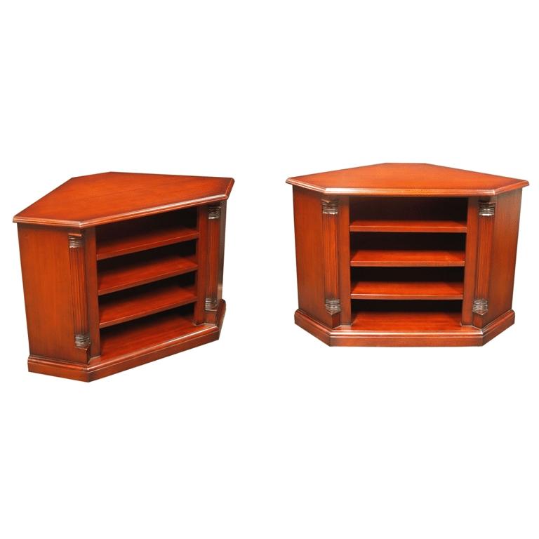 Stunning Best Mahogany Corner TV Stands With Mahogany Corner Tv Stand Tvc93 Akd Furniture (Image 41 of 50)