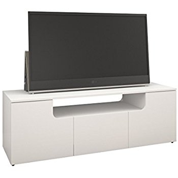 Stunning Best Nexera TV Stands Throughout Amazon Arobas 600103 60 Inch Tv Stand From Nexera White (View 18 of 50)