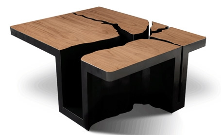 Stunning Best Odd Shaped Coffee Tables Throughout 20 Unusual Modern Table Designs (View 32 of 50)