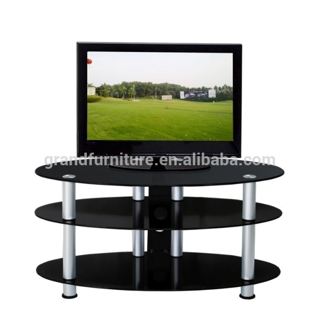 Stunning Best Oval Glass TV Stands Within Oval Glass Tv Stand Oval Glass Tv Stand Suppliers And (Image 40 of 50)