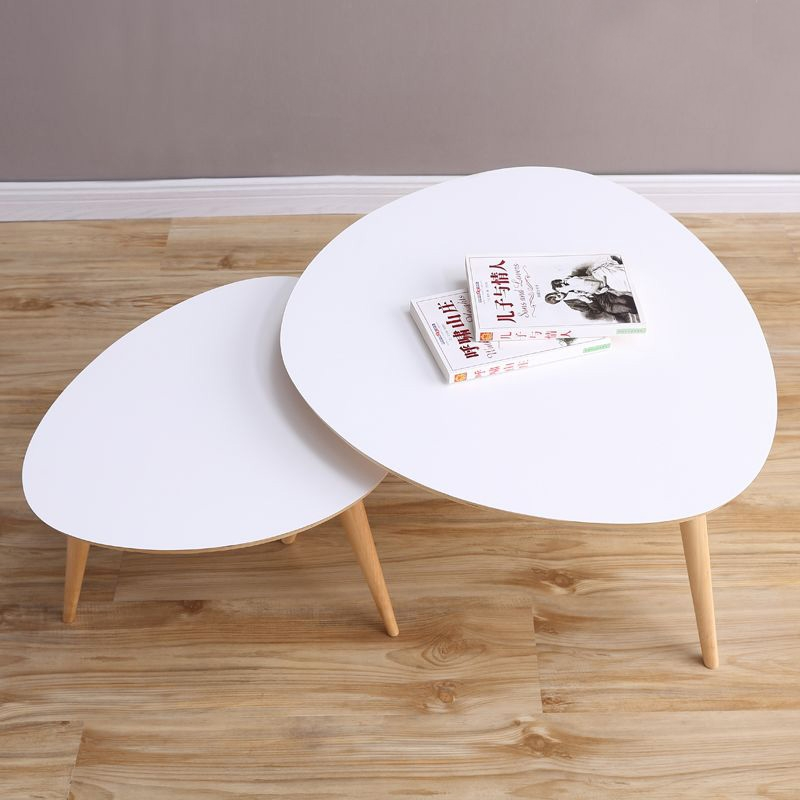Stunning Best Oval White Coffee Tables Inside Aliexpress Buy 2 Pieces For A Lot Living Room Furniture (Image 44 of 50)