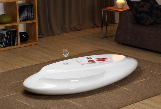 Stunning Best Oval White Coffee Tables Inside Oval Gloss Coffee Table Idi Design (Image 45 of 50)