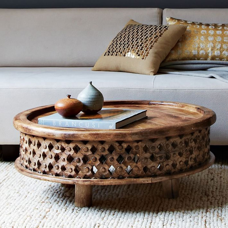 Stunning Best Round Coffee Tables For 12 Round Coffee Tables We Love The Everygirl (Image 44 of 50)