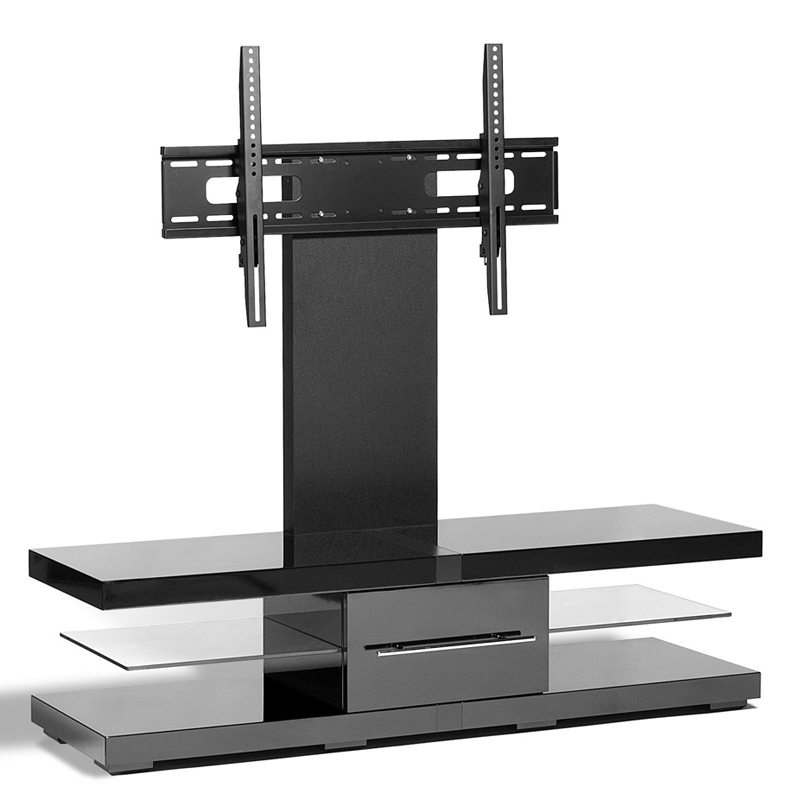 Stunning Best Techlink Echo Ec130tvb TV Stands Throughout Techlink Ec130tvb Echo 51 Tv Stand In Black W Contrasting (Image 44 of 50)