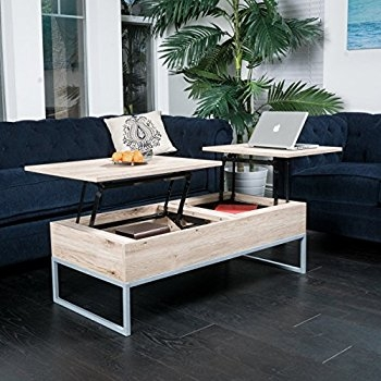 Stunning Best Wooden Storage Coffee Tables With Regard To Amazon Caleb Brown Wood Lift Top Storage Coffee Table (View 31 of 50)