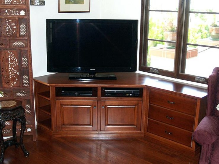 Stunning Brand New Corner TV Stands For Flat Screen In 40 Tv Stand Ideas For Ultimate Home Entertainment Center Flat (View 37 of 50)