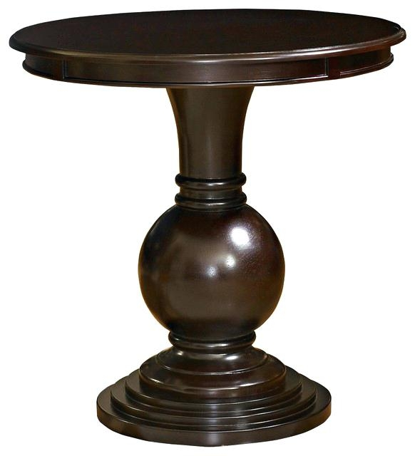 Stunning Brand New Cosmo Coffee Tables Regarding Coffee Table Abson Living Cosmo Espresso Wood Round Coffee (View 38 of 50)