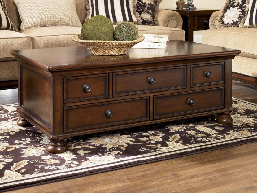 Stunning Brand New Dark Wood Chest Coffee Tables With Regard To Coffee Table Fascinating Coffee Tables With Drawers Ideas Coffee (Photo 7 of 50)