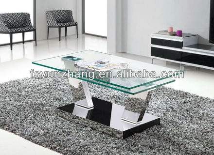 Stunning Brand New Glass Lift Top Coffee Tables Within Fancy Glass Lift Top Cross Legs Coffee Table Blue Round Glass (Image 32 of 40)