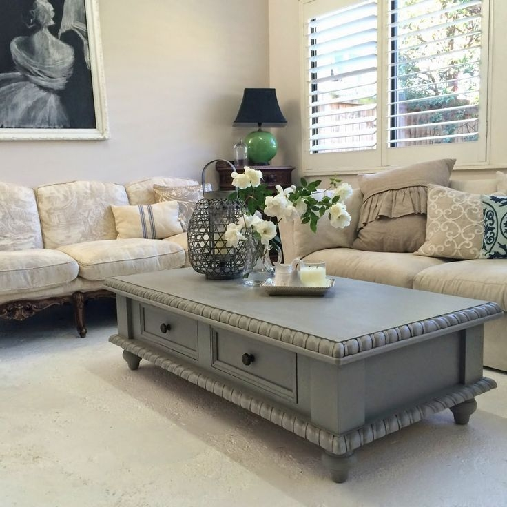Stunning Brand New Gray Wood Coffee Tables For Best 10 Painted Coffee Tables Ideas On Pinterest Farm Style (Image 42 of 50)