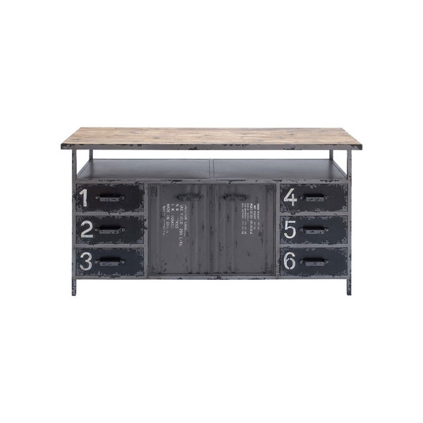 Stunning Brand New Industrial Metal TV Cabinets In Bucknell Cabinet Tv Stands Joss Main Industrial (Image 46 of 50)